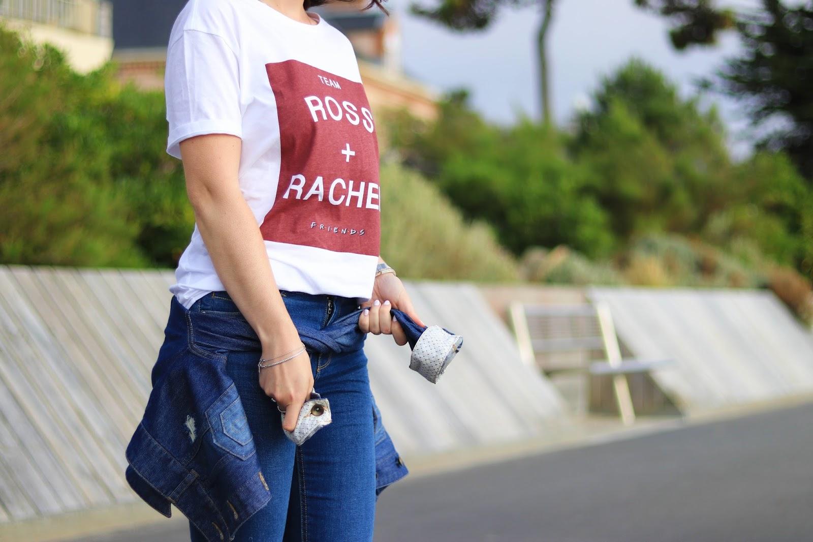 look mode friends fan serie tv télé ross rachel monica chandler joey phoebe jeans saint pair sur mer normandie cestbeaulamanche undiz stradivarius les gommettes de melo gommette