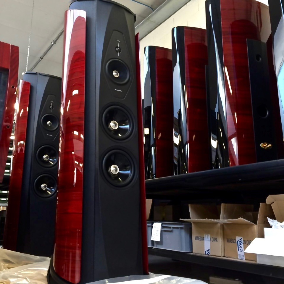 mono and stereo high end audio magazine sonus faber flagships in the production and 1000th. Black Bedroom Furniture Sets. Home Design Ideas