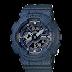 นาฬิกาข้อมูลผู้หญิง CASIO สียีนต์ดำ นาฬิกา BABY-G BA-110DC-2A1 สายเรซิน