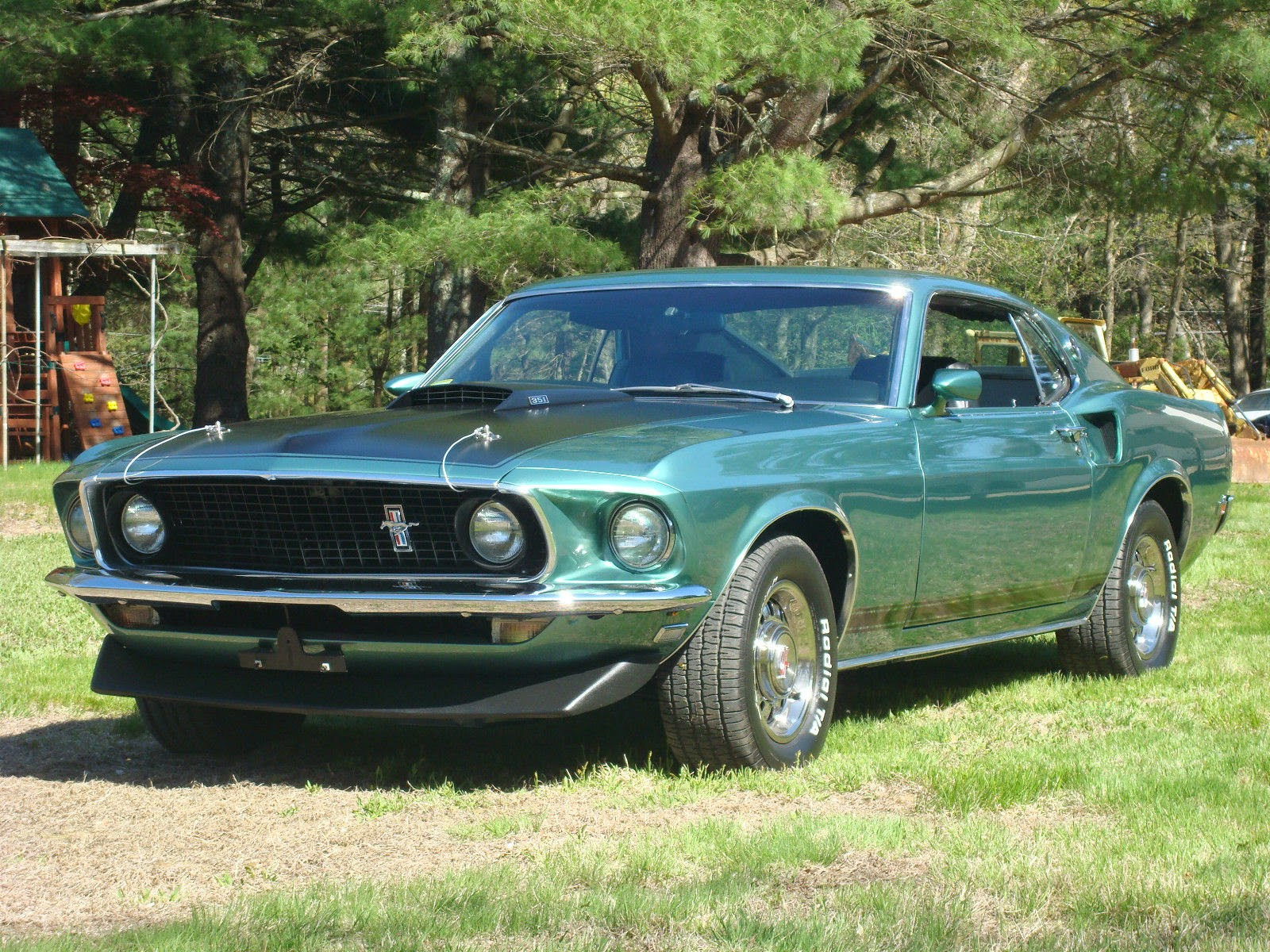 2014 05 18 For Sale American Muscle Cars 1969 Ford Mustang Hatchback Gt Fastback Rotisserie Restored