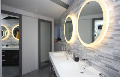 Bathroom Unique Mirrors with Lights