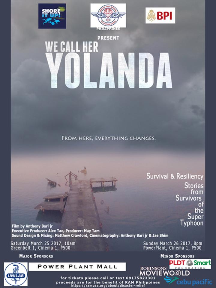 We Call Her Yolanda