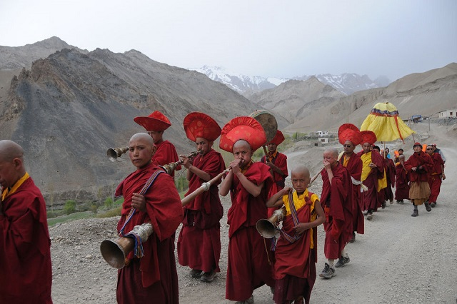 The tradition of the order in Ladakh