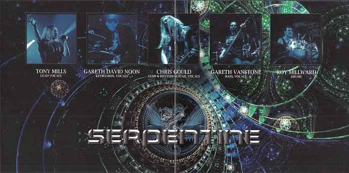 SERPENTINE - Living And Dying In High Definition [LTD Ed. USB reissues + bonus] inside