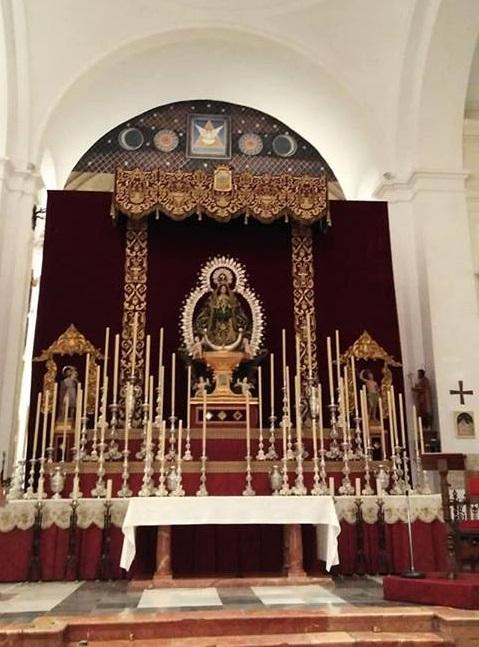 Hoy Procesión de Nuestra Señora de los Remedios, Patrona de Vélez-Málaga
