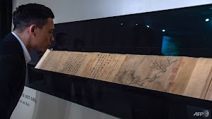 Ancient Chinese Painting At Auction, Expected To Fetch Whooping US$51 million (Photos)
