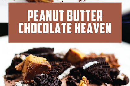 PEANUT BUTTER CHOCOLATE HEAVEN #Christmas #Chocolate