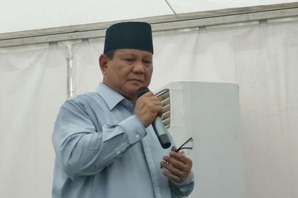 Prabowo: Kalau Ada yang Bagi-bagi Uang, Terima, Itu Uang Rakyat