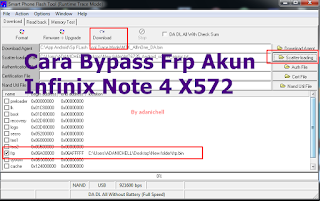 Cara Bypass Frp Akun Infinix Note 4 X572