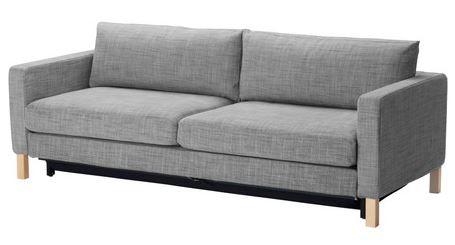 Arredo a modo mio karlstad il divano letto pratico ed for Divano letto matrimoniale ikea