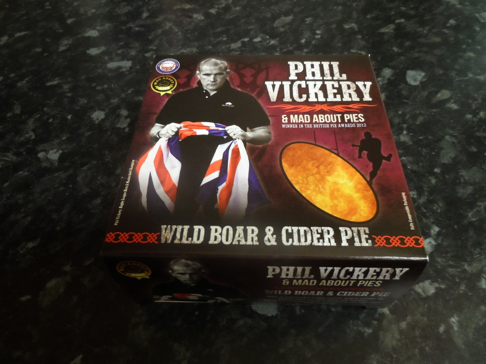 mad about pies phil vickery wild boar cider