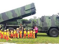 Taman Kanak-Kanak Madani Mondoroko Kunjungi Batalyon Armed 1/Roket