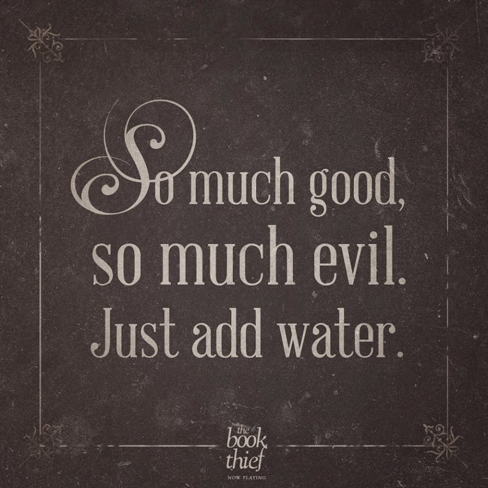 so much good so much evil just add water