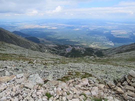 Widok na Dolinę Łomnicką.
