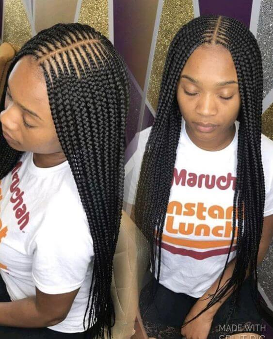 31 Trendy Cornrows Braids Hairstyles For Black Women To