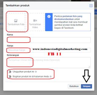 toko online facebook 11