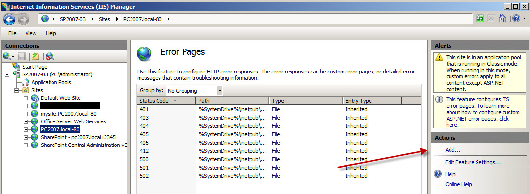 SharePoint The PC Way: Http to Https Redirect in IIS7