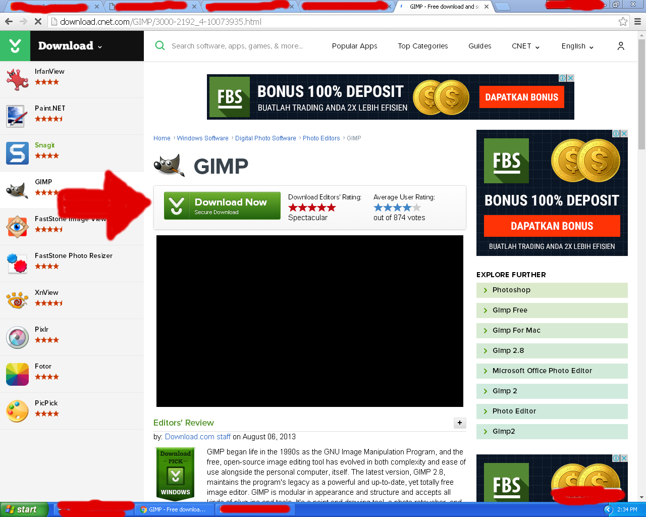 download gimp gratis