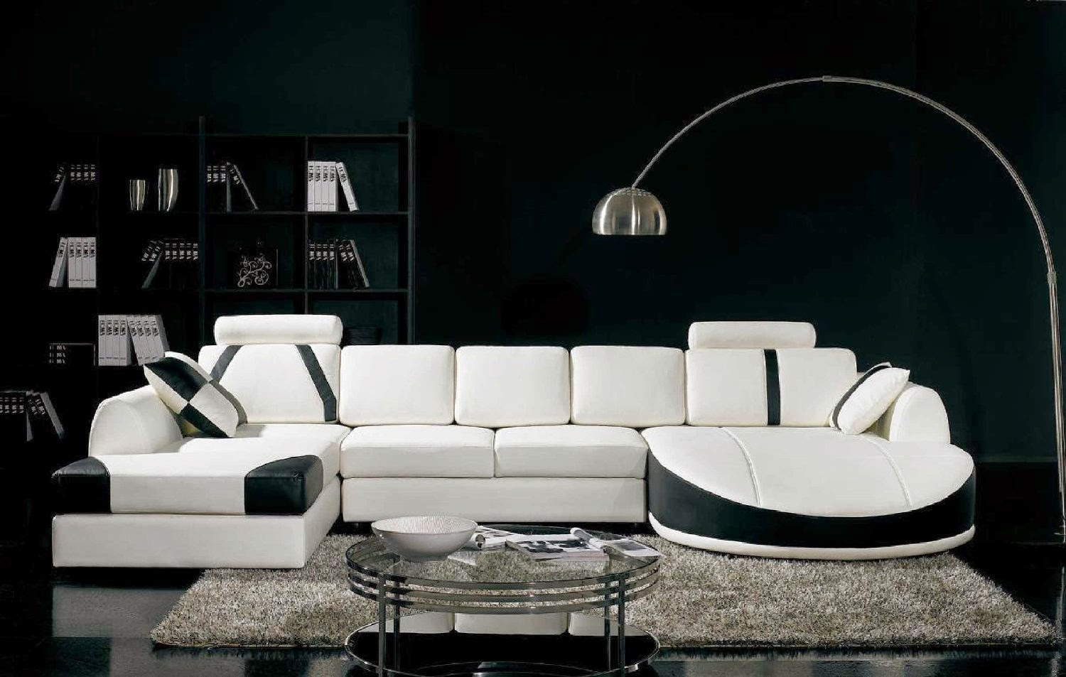 modern curved sofa reviews march  - vig furniture tb ultra contemporary curved sectional sofa