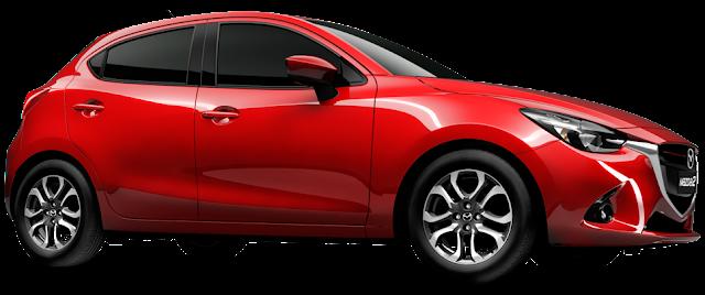 Mazda-2 side look