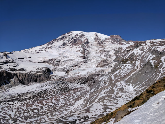 Muir Snowfield and Summer Conditions in October