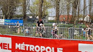 Triathlon Villeneuve d'Ascq parc velo