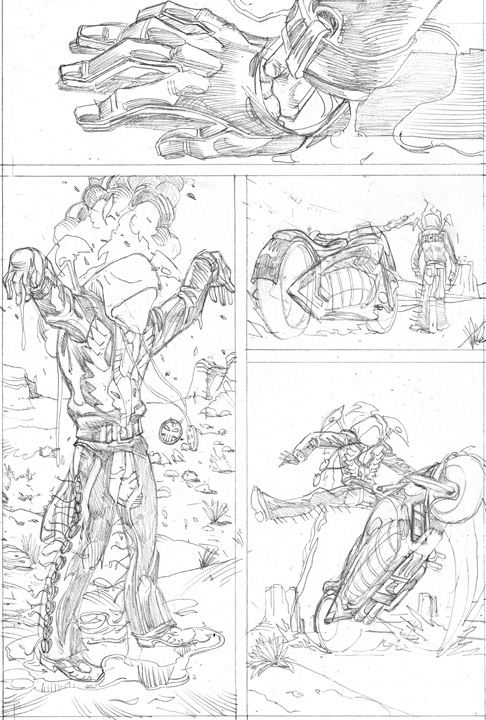 indiana jones and ghostrider coloring pages | Art of the Black Hand - The Worlds of Neill Brengettsey ...