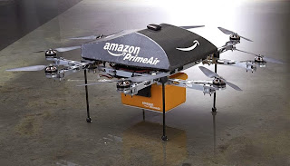 Amazon PrimeAir, Real Retail on Sky Via Drone Plane