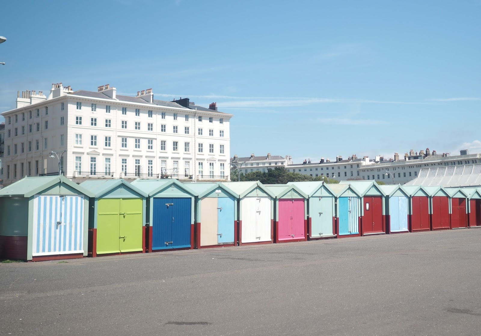 Hove Beach Huts, Brighton