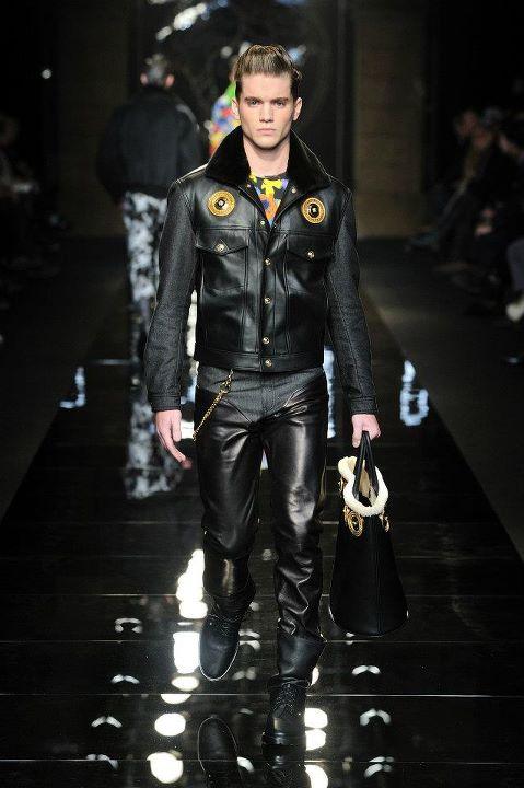 Versace Men 2015 Spring Summer: Versace Men's Wear Fashion Show Fall Winter 2012-13