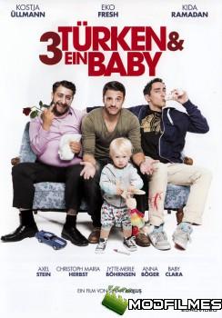 Capa do Filme 3 Turcos e um Bebê