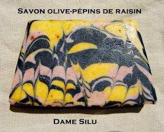 savon olive raisin