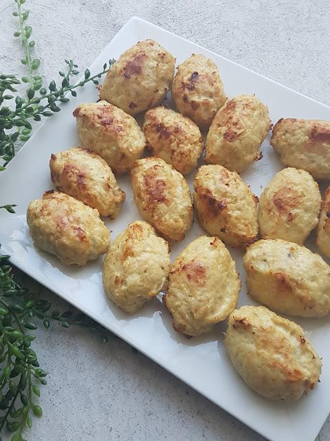 Boulettes de poulet à la grecque