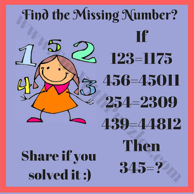 Can you find the missing number?