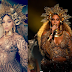 Did this Beyonce impersonator knock out the singer's outfit at the Grammy Awards 2017?