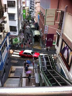 Central - Mid Levels Escalator, Hong Kong