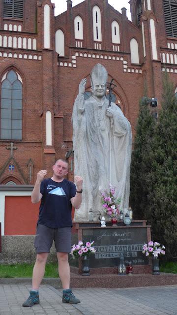 Pomniki Jana Pawła II - Myszyniec