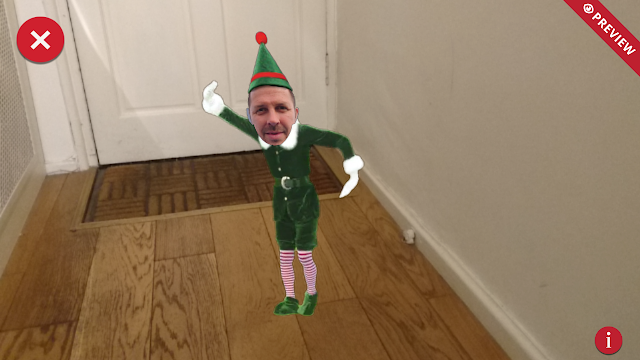 ElfYourself 2017 Augmented Reality elf