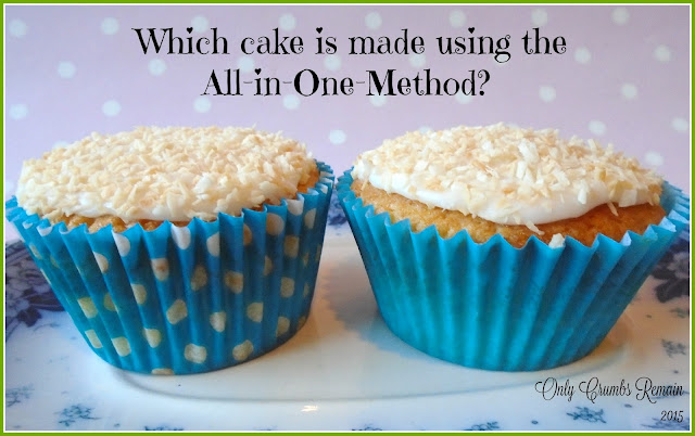 Which is the better cupcake, all-in-one or creaming-in-