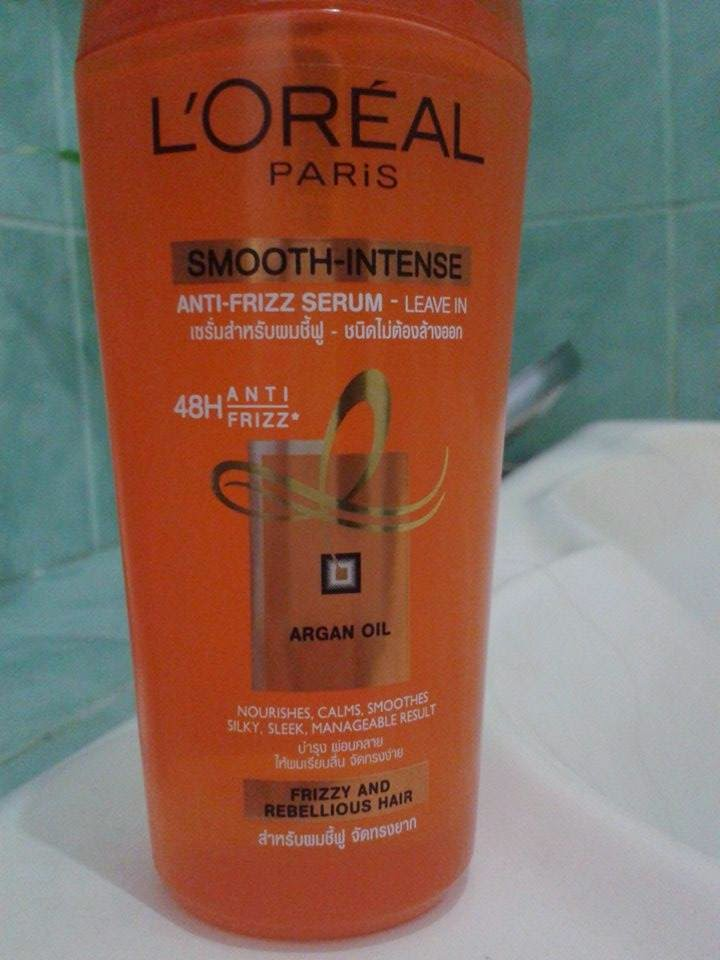 On With The L Oreal Smooth Intense Serum Review
