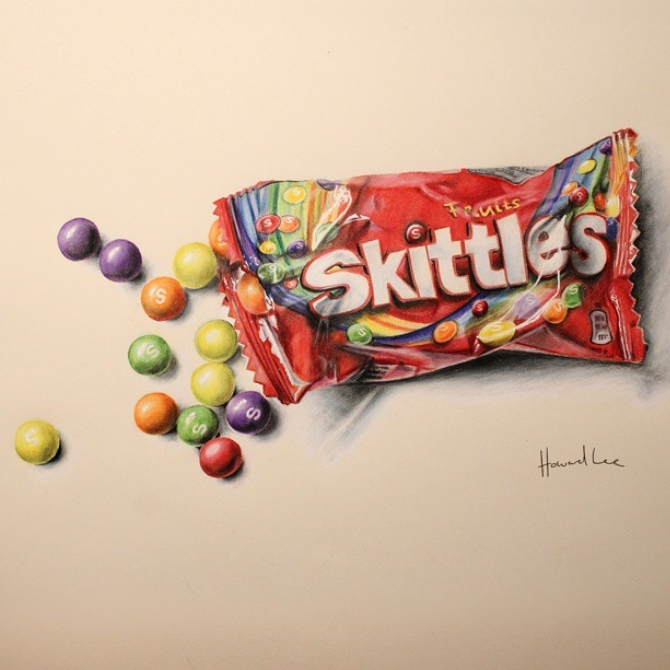 12-Skittles-Howard-Lee-Time-Lapse-Videos-of-Drawings-and-Paintings-www-designstack-co