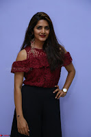 Pavani Gangireddy in Cute Black Skirt Maroon Top at 9 Movie Teaser Launch 5th May 2017  Exclusive 062.JPG