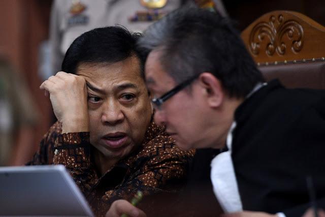 Terungkap di Pengadilan, Terima Uang Tanpa Transfer Bank, Begini Aliran Uang untuk Setya Novanto