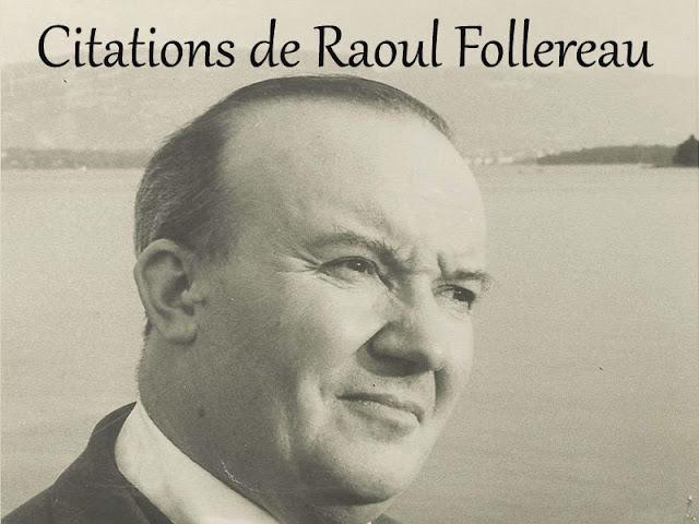 Citations de Raoul Follereau