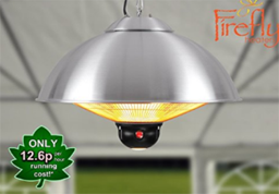 Primrose Firefly 2.1kw Ceiling Mounted Electric Halogen Patio Heater , Gas Patio Heaters, Outdoor Electric Heaters, Outdoor Furniture, Outdoor Gas Heaters, Outdoor Patio Heaters, Outdoor Radiant Heaters, Patio Heaters, Patio Heating,