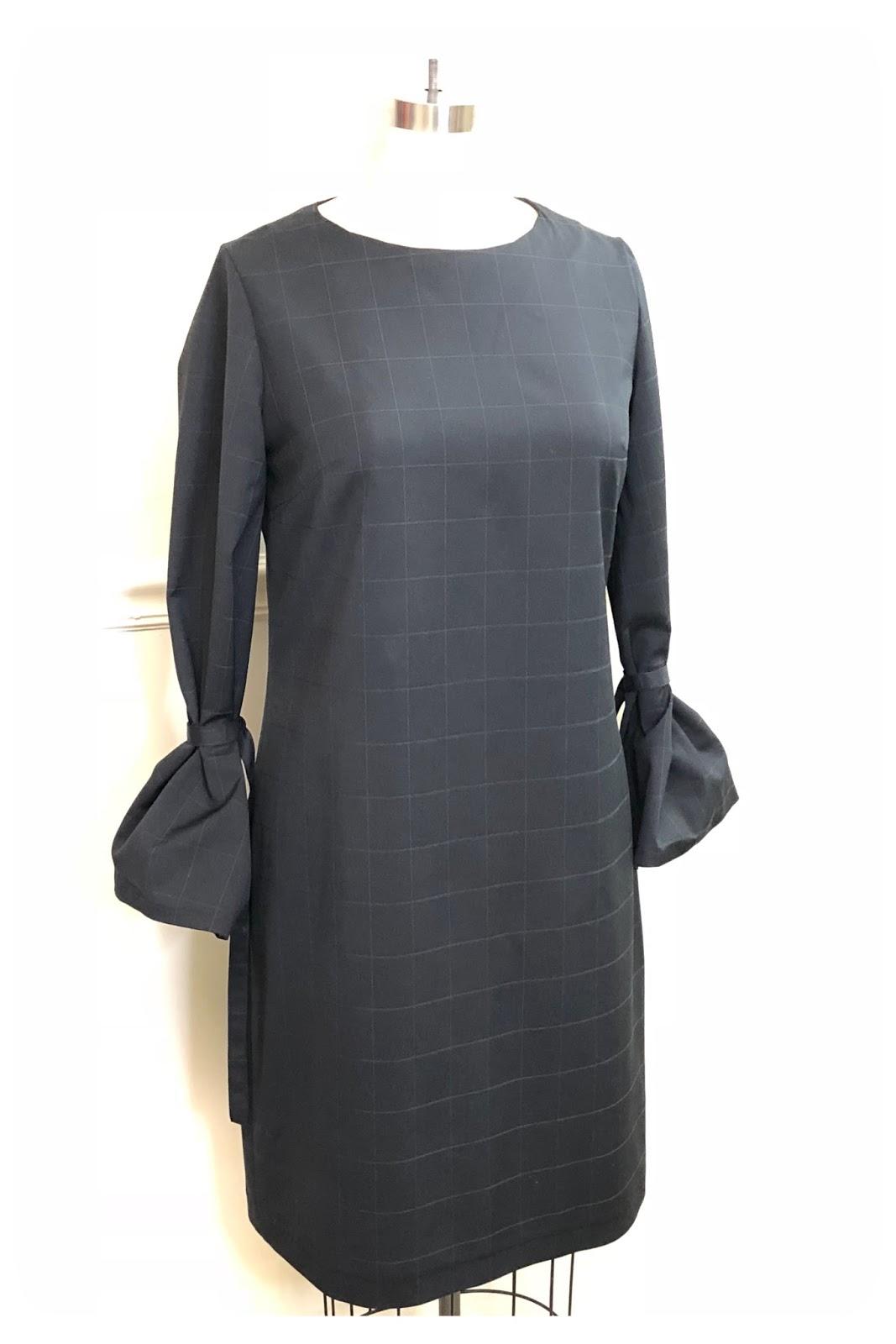 New Look 6524 | Little Black Shift Dress - Erica Bunker DIY Style!
