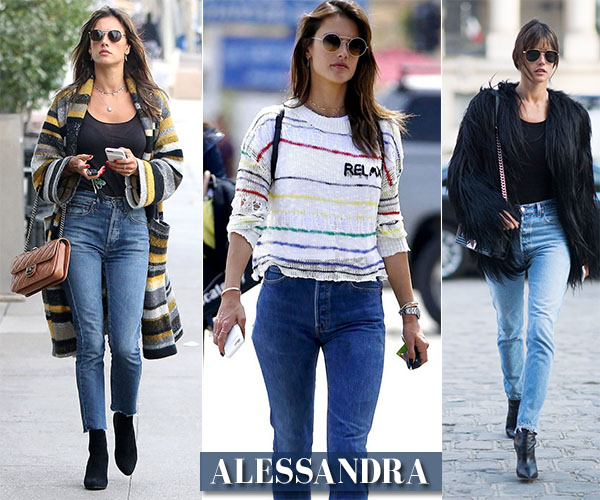 alessandra ambrosio shop her closet outfits and style