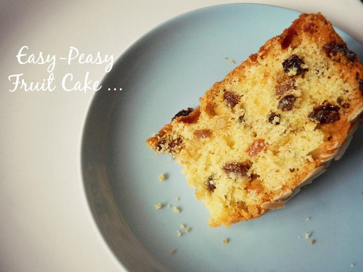 Fruit Cake Recipe Uk Easy: Love From Lisa: Easy-Peasy Fruit Cake