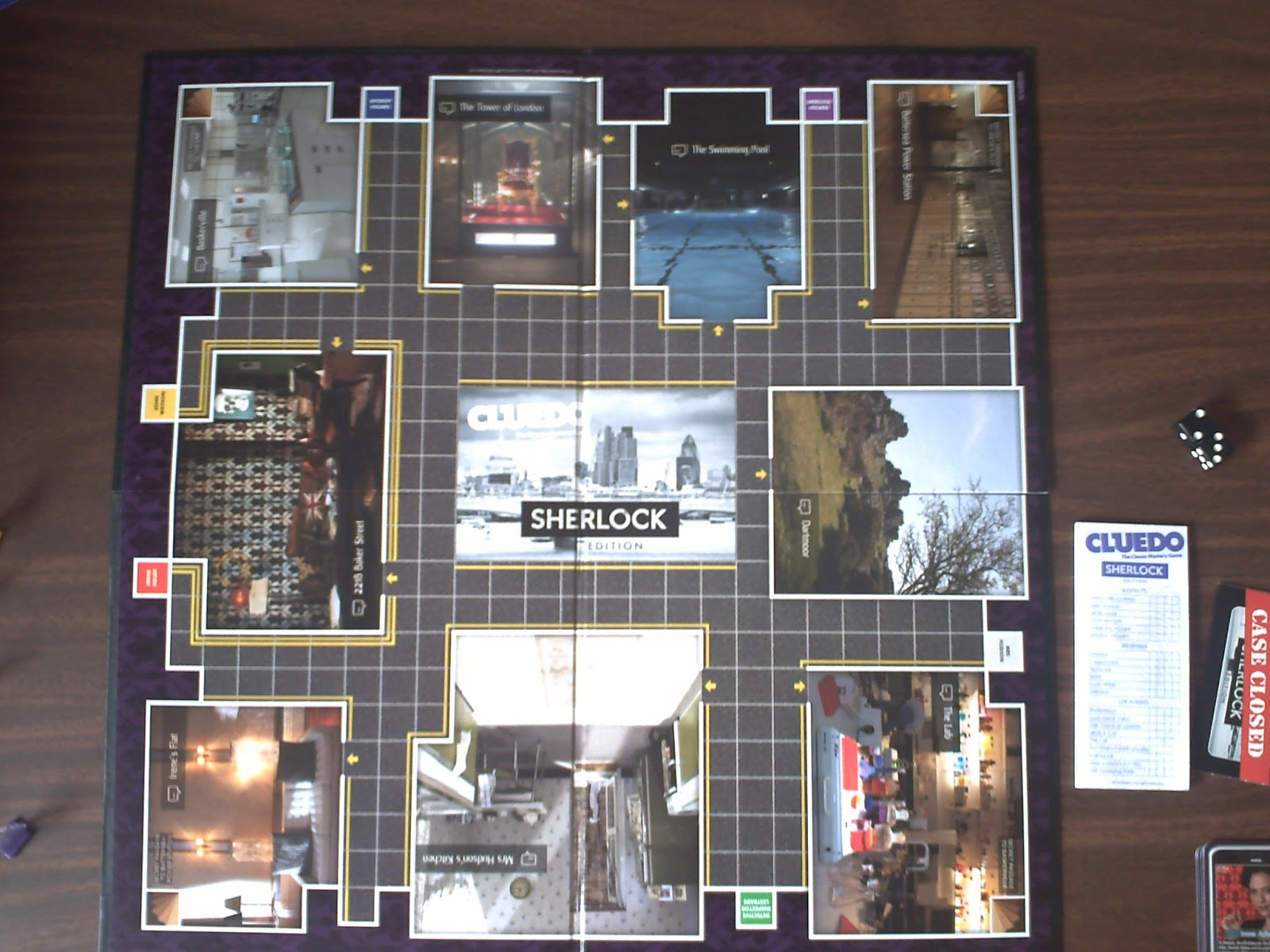 Review Cluedo Sherlock Edition The Disgruntled Individual