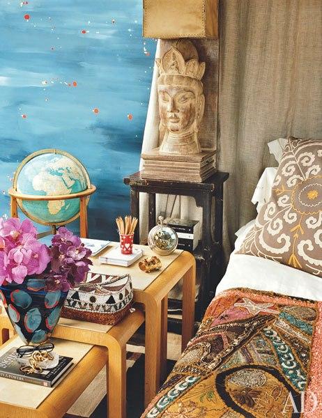 Brown Memsahib Celebrity Home Diane Von Furstenberg S
